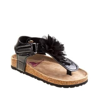 Rugged Bear Girls Birkenstock Multicolor Polyurethane Sandals