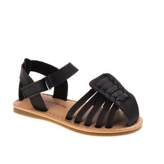 Rugged Bear Girl's Polyurethane Strappy Sandals