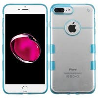 Insten Clear/ Blue Hard Snap-on Crystal Case Cover For Apple iPhone 7 Plus