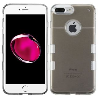 Insten Black/ Clear Hard Snap-on Case Cover For Apple iPhone 7 Plus