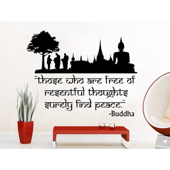 Shop Quote Lotus Flower Yoga Buddha Those Who Are Free Of Resentful