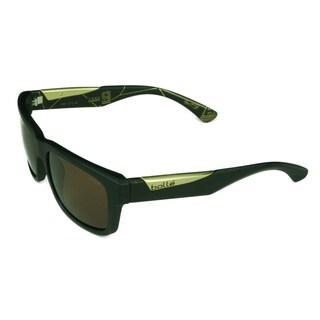 Bolle Sport Unisex Jude Tony Parker Edition 12115 Black Frame w/ Polaried AG-14 Lens Sunglasses
