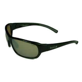 Bolle Men's Bounty Black-framed Plastic Impact-resistant Sunglasses