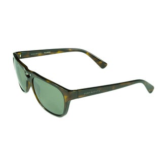 Serengeti Fashion Mens Tommaso 7960 Shiny Dark Tortoise with Polarized 555nm Lens Sunglasses