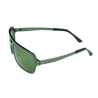 Serengeti Mens Nunzio 7907 Green Carbon Fiber Polarized Lens Sunglasses