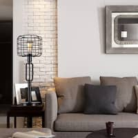 Gimbane Cage Shade Table Lamp