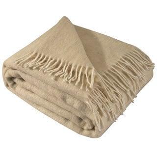 Soft and Luxurious 100% Pure Merino Wool Throw