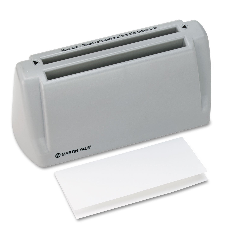 Martin Yale Model P6200 Desktop Paper Folder 1800 Sheets/...