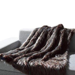BolBoms Faux Fur Cozy Warm Fluffy Throw
