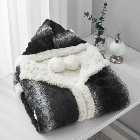 Chic Home Aisha Hooded Snuggle Blanket
