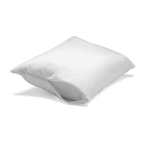 Hypoallergenic Waterproof Bed Bug Microfiber Pillow Encasement Protector (Set of 2)