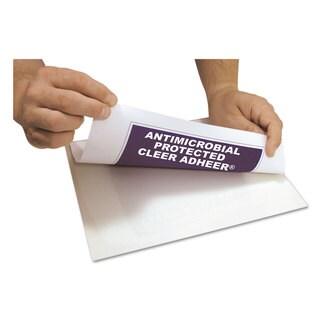 C-Line Cleer Adheer Self-Adhesive Laminating Film 3 mil 9 inches x 12 inches 50/Box