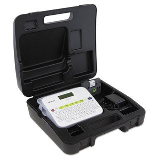 Brother P-Touch PT-D400VP Versatile Label Maker with AC Adapter and Carrying Case White