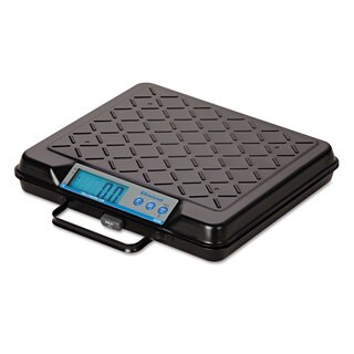 Brecknell Portable Electronic Utility Bench Scale 250-pound Capacity 12 x 10 Platform