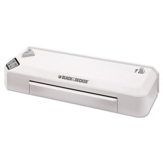 BLACKDECKER Flash Thermal Laminator 9-1/2 x 5 Mil Maximum Document Thickness