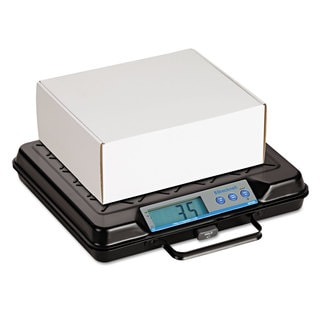 Brecknell Portable Electronic Utility Bench Scale 100-pound Capacity 12 x 10 Platform