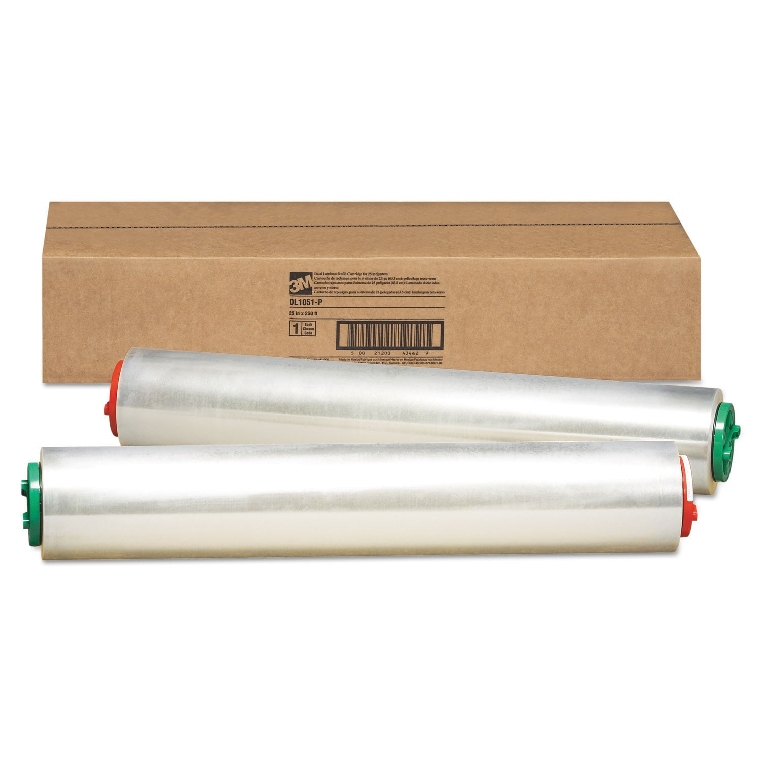 3M Refill Rolls for Heat-Free Laminating Machines 250-fee...
