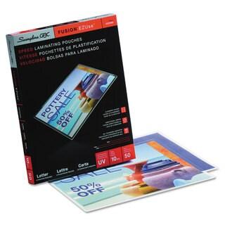 Swingline GBC EZUse Thermal Laminating Pouches 10 mil 11 1/2 x 9 50/Box