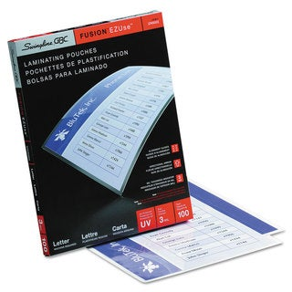 Swingline GBC EZUse Thermal Laminating Pouches Letter Size 100 per Box