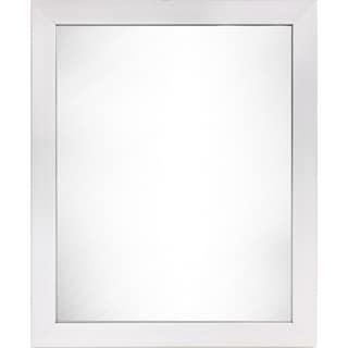 Wee's Beyond White Wall Mounted Rectangular Dressing Mirror