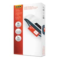 Fellowes Laminating Pouches 5mil 4 1/4 x 2 1/2 Tag Size 50/Pack