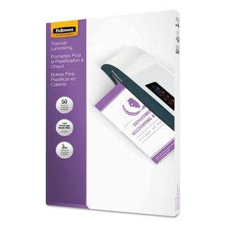 Fellowes Laminating Pouches 3mil 9 x 14 1/2 50/Pack