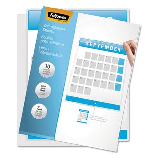 Fellowes Self-Laminating Sheets 3mil 12 x 9 1/4 50/Box