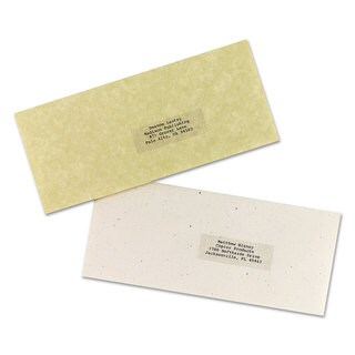 Avery Clear Copier Mailing Labels 1 x 2 13/16 2310/Pack