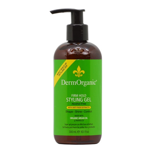 DermOrganic Firm Hold 10-ounce Styling Gel 70% Organic
