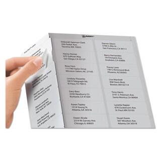 Avery Easy Peel Address Labels Laser 1 x 2 5/8 White 15000/Box
