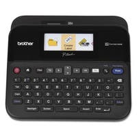Brother P-Touch PT-D600 PC-Connectable Label Maker with Color Display Black