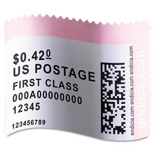 DYMO LabelWriter Postage Stamp Labels 1-5/8 x 1-1/4 White 200/RL
