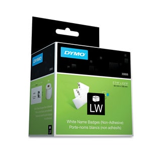 DYMO Name Badge Insert Labels 2-7/16 x 4-3/16 White 250/Box