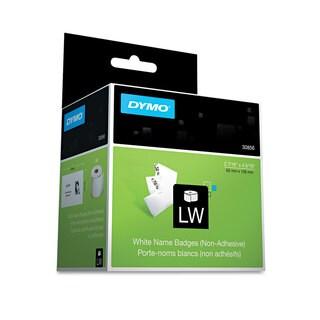 DYMO Name Badge Insert Labels 2-7/16 x 4-3/16 White 250/Box