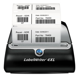 DYMO LabelWriter 4XL 4 4/25-inch Labels 53 Labels/Minute 7 3/10-inch wide x 7 4/5-inch deep x 5 1/2h
