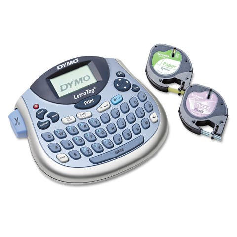 DYMO LetraTag 100T Label Maker 2 Lines 6 7/10-inch wide x 2 4/5-inch deep x 5 7/10h