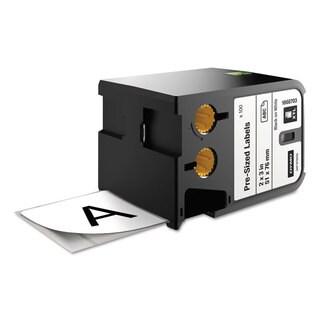 DYMO XTL Pre-Sized Labels 2-inch x 3-inch White/Black Print 100/Cartridge
