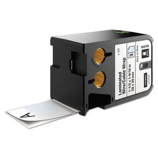 DYMO XTL Pre-Sized Labels 1 1/2-inch x 1 9/16-inch White/Black Print 150/Cartridge|https://ak1.ostkcdn.com/images/products/14009477/P20631236.jpg?impolicy=medium