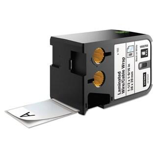 DYMO XTL Pre-Sized Labels 1 1/2-inch x 1 9/16-inch White/Black Print 150/Cartridge