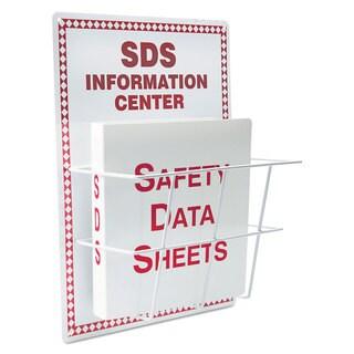 LabelMaster SDS Information Center 15 x 20 White/Red