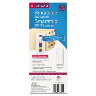 Smead SmartStrip Refill Label Kit 250 Label Forms/Pack Laser 250/Pack