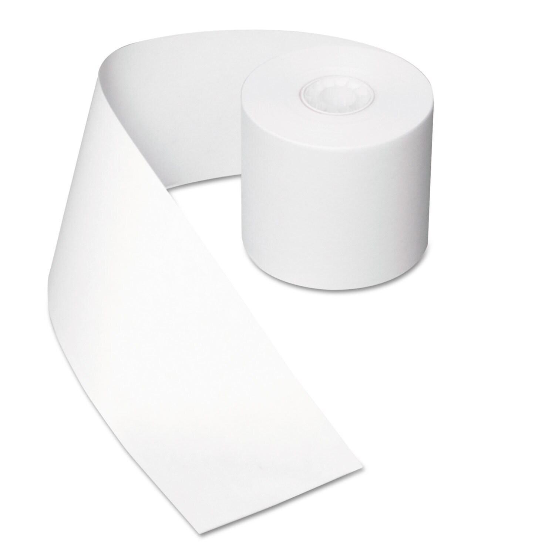 Royal Paper Register Roll 44 mm x 130 ft White Bond 1 Ply...