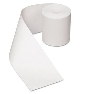 Royal Paper Heat Sensitive Register Rolls 3 1/8 inches x 200 ft 1 Ply White 30 Rolls/Carton
