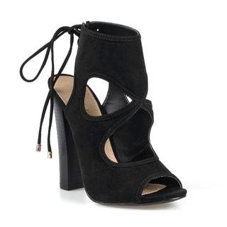 Mark and Maddux Marcus-02 Women's Peep Toe High Heel Sandals