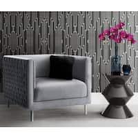 Sal Grey Woven Chair