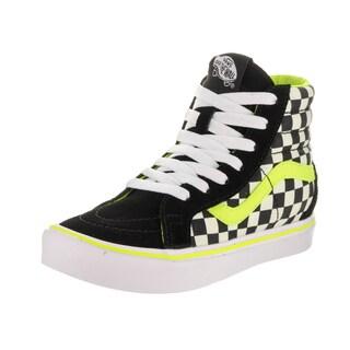 Vans Kids' Sk8-Hi Reissue Li Freshness Black Suede Skate Shoes