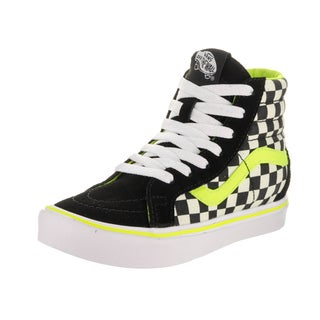 Vans Kids' Sk8-Hi Reissue Li Freshness Black Suede Skate Shoes