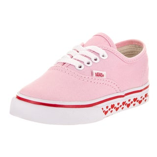 Vans Toddlers' Authentic Hearts Tape Skate Shoes
