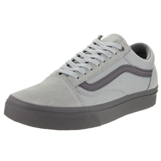 Vans Unisex Old Skool (C and D) Grey Suede Skate Shoe