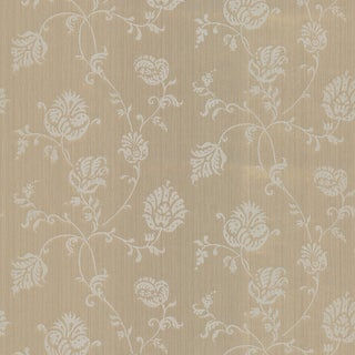 Link to Brewster Isabel Gold Jacobean Trail Wallpaper Roll Similar Items in Bath